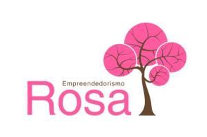 Logo empreendedorismo rosa